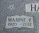 Maxine <I>Funston</I> Harrah