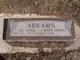 Lois <I>Allred</I> Abrams