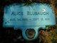 Profile photo:  Alice Blubaugh