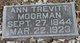 Profile photo:  Ann <I>Trevitt</I> Moorman