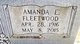 Profile photo:  Amanda <I>Fleetwood</I> Bonesteel