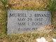 Muriel June <I>Peace</I> Bryant