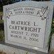 Profile photo:  Beatrice Louise <I>Eakins</I> Cartwright