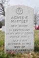 Profile photo: Lieut Agnes C Hartley