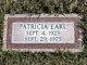 Patricia <I>Parker</I> Earl