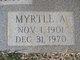 Myrtle A <I>Bryant</I> Brazeale