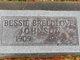 Profile photo:  Bessie <I>Breedlove</I> Johnson