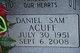 """Daniel """"Sam"""" Acuff"""