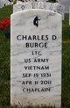 """Profile photo:  Charles Douglas """"Chappy"""" Burge"""