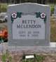 Betty McClendon
