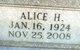 Profile photo:  Alice H. Holdiness