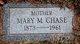 Mary Ethel <I>Marston</I> Chase