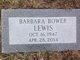 Barbara <I>Bower</I> Lewis