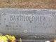 """Jack A """"Bart"""" Bartholomew"""