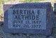Bertha E Althide