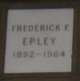 Profile photo:  Frederick F. Epley