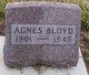 Profile photo:  Agnes <I>Major</I> Bloyd