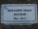 Profile photo:  Benjamin Isaac Bachar