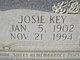 Josie <I>Key</I> Dickey
