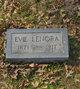 """Profile photo:  Eva Lenora """"Evie"""" <I>Moore</I> Hockaday"""