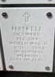 Profile photo:  Heyward Haskell