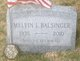 Profile photo:  Melvin L. Balsinger