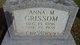 Profile photo:  Anna May <I>Taylor</I> Grissom