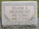 William Basil Argabright