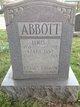 Profile photo:  Clara Jane <I>Bugbee</I> Abbott