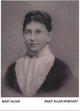 Mary Esther <I>Thompson</I> Allen