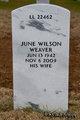 Profile photo:  June <I>Wilson</I> Weaver