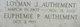 """Loyman Joseph """"Manny"""" Authement"""