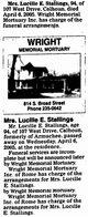 Lucille Elmyra <I>McClendon</I> Stallings