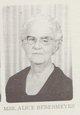 Profile photo:  Alice C Bebermeyer