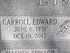 Carroll Edward Lisby