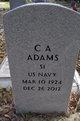 Profile photo:  C. A. Adams