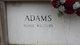 Profile photo:  Merle Daphnia <I>Williams</I> Adams