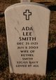 Profile photo:  Ada Lee Smith