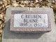 Profile photo:  C. Rueben Blaine