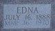 Edna <I>Summers</I> Limbaugh