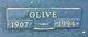 Profile photo:  Olive <I>Fairley</I> Marth