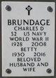 Profile photo:  Charles Douglas Brundage