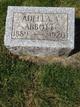 Profile photo:  Adella A Abbott
