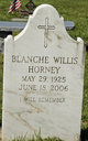 Profile photo:  Blanche <I>Willis</I> Horney