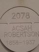 Profile photo:  Acsah Robertson