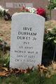Profile photo:  Irve Durham Dukes, Jr.