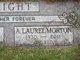 "Profile photo:  A. Laurel ""Big Red"" <I>Morton</I> Wright"