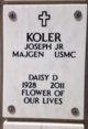 MG Joseph Koler Jr.
