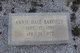 Annie <I>Hale</I> Barfield