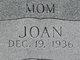Sally Joan <I>Nichols</I> Bates